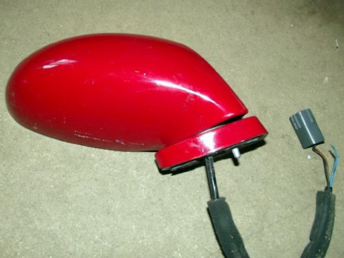 Door Mirror, Mazda MX-5 mk2, r/h, SU Red, electric, right hand, N05469120FSU, USED 02